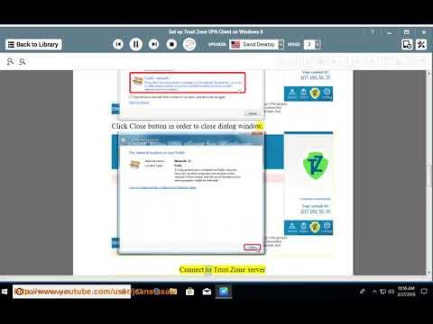 Set up Trust.Zone VPN Client on Windows 8