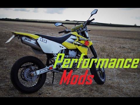 SUZUKI DRZ400 PERFORMANCE POWER UPGRADES & MODS