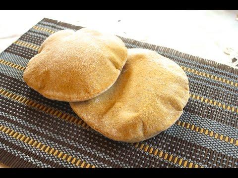 Best Pita Bread recipe, 100% whole wheat (Arabic)