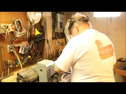 Repairing Broken Stanley Bailey #4 ~ Pt 7 ~ Making A New Knob ~ Rough Turn ~ by Old Sneelock's Works