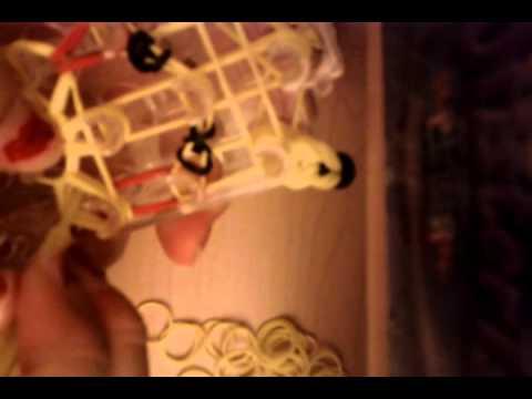 How to make a Rainbow Loom Pikachu charm(one loom)