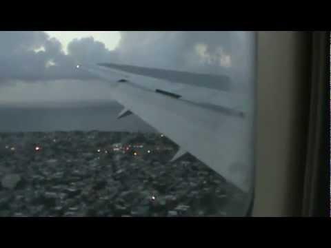 landing in san juan puerto rico/delta 767