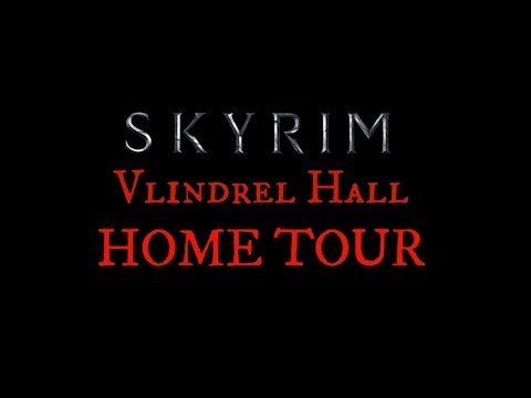 SKYRIM HOME TOUR - Vlindrel Hall in Markarth