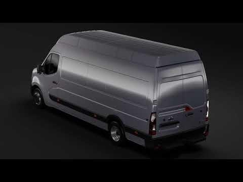 3D Model of Nissan NV 400 L4H3 Van 2017 Review