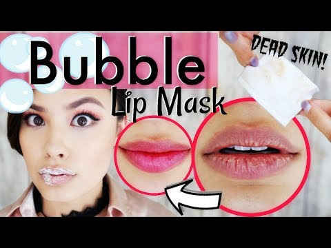 Ew, GROSS! Bubble Lip Mask That Removes DEAD SKIN 💀