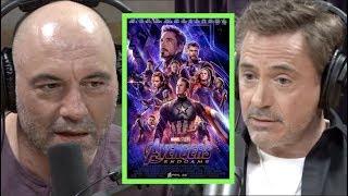 Robert Downey Jr. Explains the Process of Working on Marvel Movies | Joe Rogan