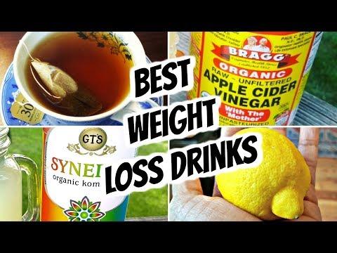 Best Drinks to Lose Weight | Apple Cider Vinegar, Kombucha, Lemon Water, Tea