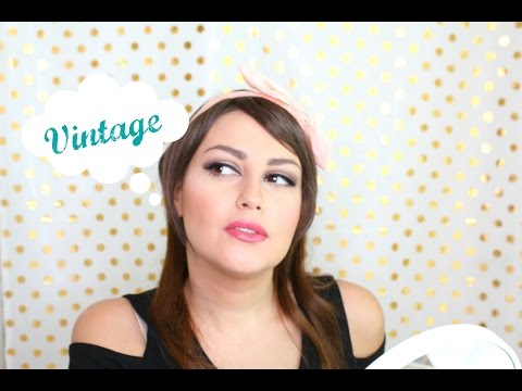 Makeup inspired by Vintage Cosmetics BOOTS!!! | مكياج مستوحى من منتجات بوتس