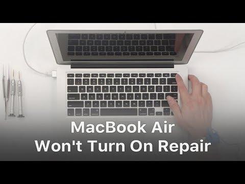 MacBook Air Won't Turn On Repair - Logic Board Troubleshooting