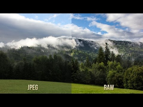 RAW vs JPEG comparison - Canon EOS 60D