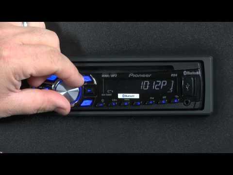 FAQ- DEH-7300BT- Clock Settings
