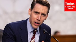 """We Have Heard An Extraordinary Number of Lies"": Josh Hawley Blasts Opponents To Georgia Voting Law"