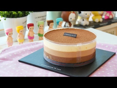 Triple Chocolate Mousse, 투썸플레이스 '트리플초콜릿무스' 만들기♥ | 더스쿱