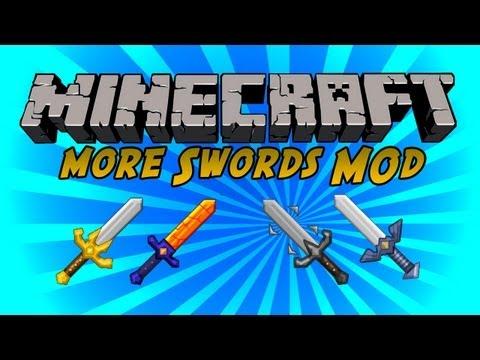 Minecraft: Mod Showcase - MORE SWORDS (1.6.2)