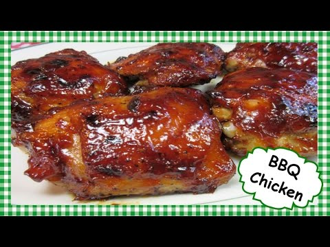 How to Make Easy BBQ Chicken in the Oven ~ Basic Barbecue Chicken Recipe