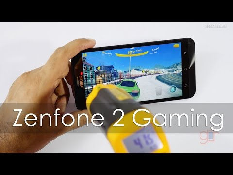 Asus Zenfone 2 (4GB RAM Model) Gaming Review with HD Games