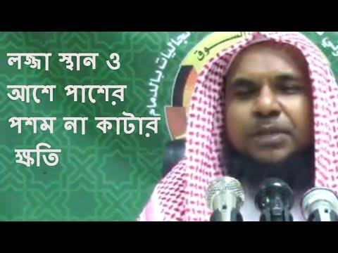 Xxx Mp4 লজ্জা স্থান ও আশে পাশের পশম না কাটার ক্ষতি মুখলেসুর রহমান মাদানী Bangla Waz Short Video 2018 3gp Sex