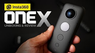 Insta360 OneX Unboxing and Review