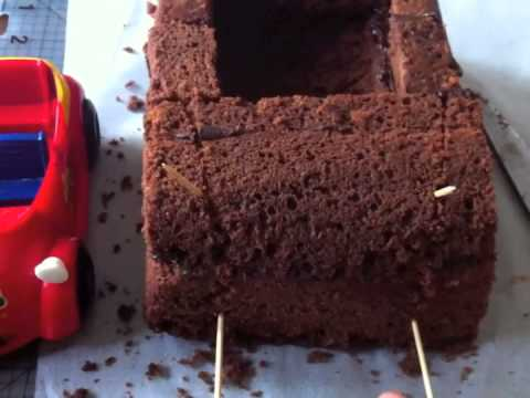 How to make a Car Cake - Part 1