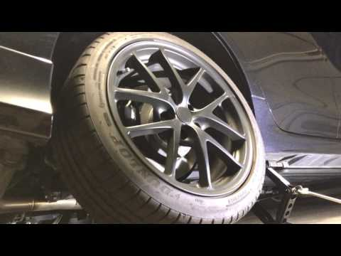 Removing a stuck wheel spacer - no heating or hammering