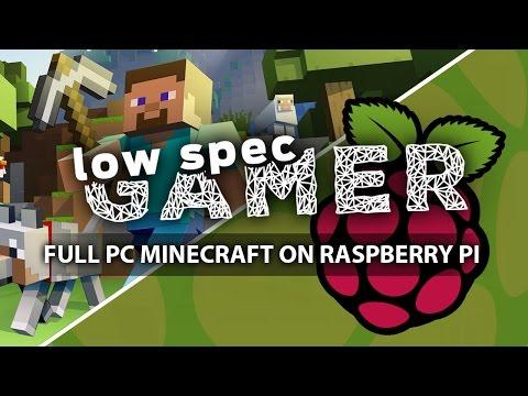 Full PC Minecraft on Raspberry Pi 2