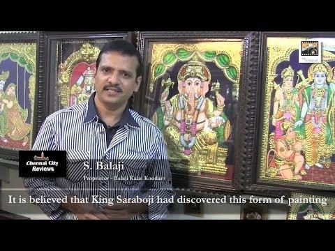 Balaji's Tanjore Paintings - Chennai City Reviews