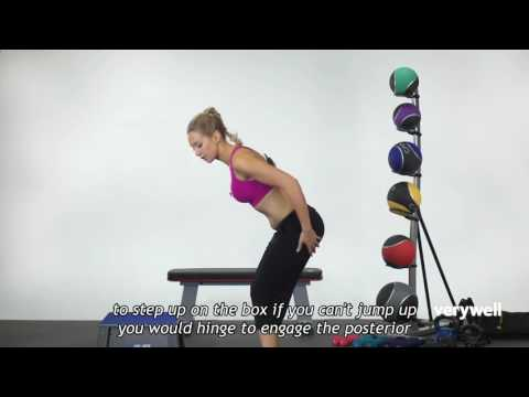 How to do Plyometric Box Burpees