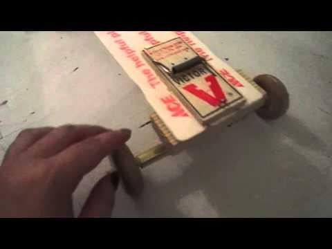 Physics - mousetrap car: explanation