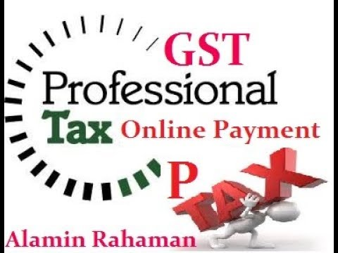 How to pay Professional Tax Online / Make your P Tax Payment Online