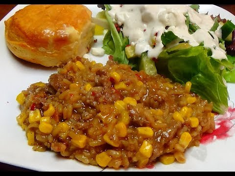 Review of Margaret Holmes Simple Supper Rice Fixin that I Fixed for Dinner