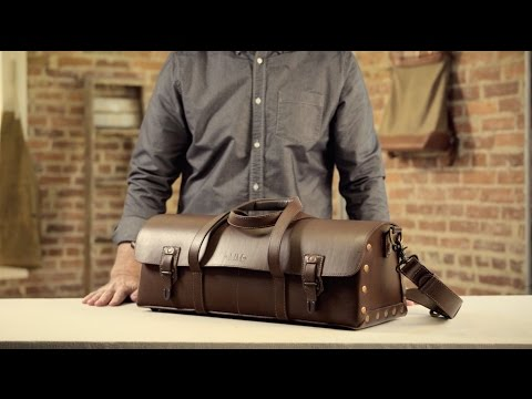 The Tradesman Bag | Full-Grain Leather Tool Bag