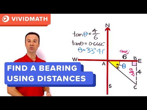 Math Help: Bearings Problem - VividMaths.com