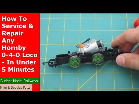 How To Service & Repair Any Hornby 0-4-0 Loco - In Under 5 Minutes