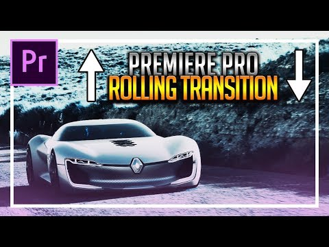 How To Create a Rolling Transition in Premiere Pro CC 2018