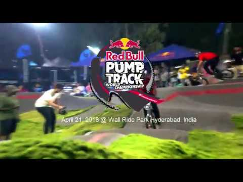 Red Bull Pump Track Championship India Round @ Wall Ride Park, Hyderabad