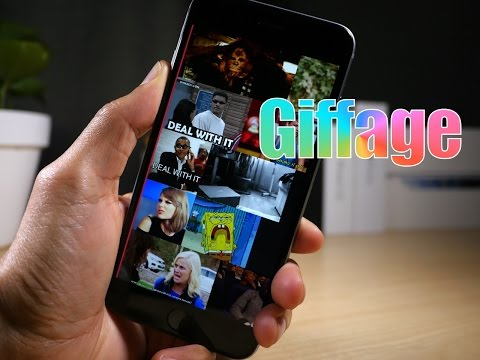First Look: Giffage - my favorite iOS keyboard