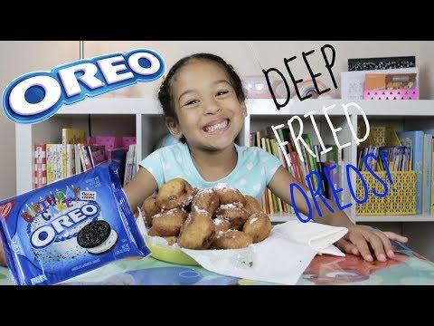 HOW TO MAKE FRIED OREOS!!!!