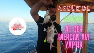 Didim - Akbük Tekne ile Balık Avı / AKBÜK'DE RESMEN AT-ÇEK MERCAN AVI YAPTIK!!!