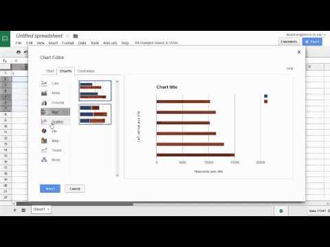 Linear and Exponential Regression in Google Docs