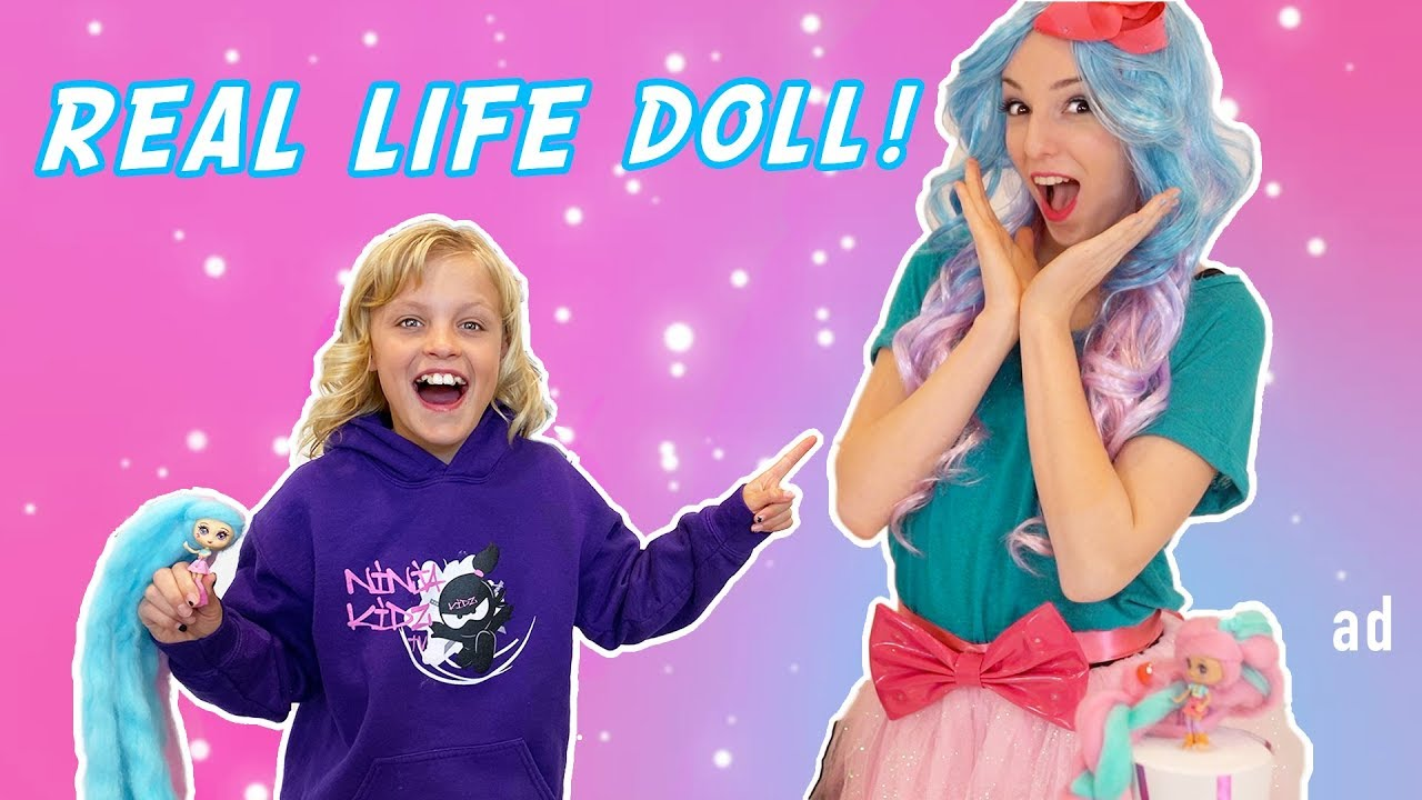 Payton's Doll comes to Life!