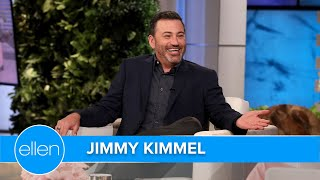 Jimmy Kimmel Gives a Hot Tip for First Time Talk Show Guests