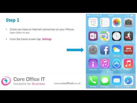 Set up Microsoft Office 365 on your iPhone