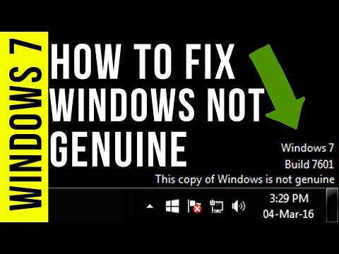 How to Fix Windows is Not Genuine | Remove Build 7601/7600 | 100% Working Windows 7/8/10 | 2017