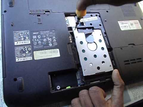 How to remove hard disk of acer aspire 5740