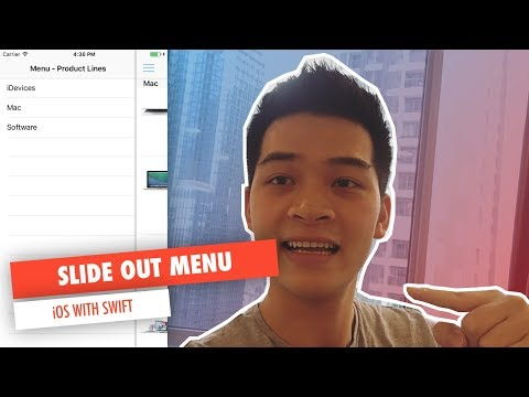 SLIDE OUT MENU WITH UIScrollView in iOS with SWIFT