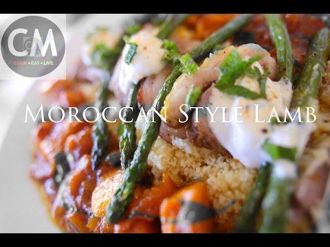 Moroccan Lamb Roast