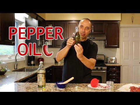 How To Make Hot Pepper Infused Oil