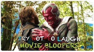 AVENGERS INFINITY WAR Bloopers - Gag Reel & Outtakes + Deleted Scenes (2018) Superhero Movie HD