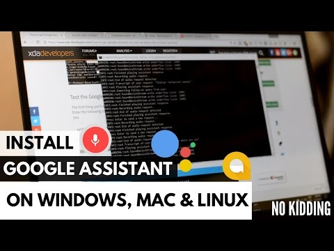 Install Google Assistant on any Windows, Mac or Linux PC