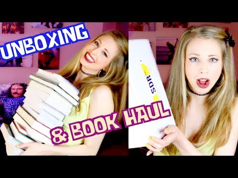 SPRING UNBOXING BOOKHAUL